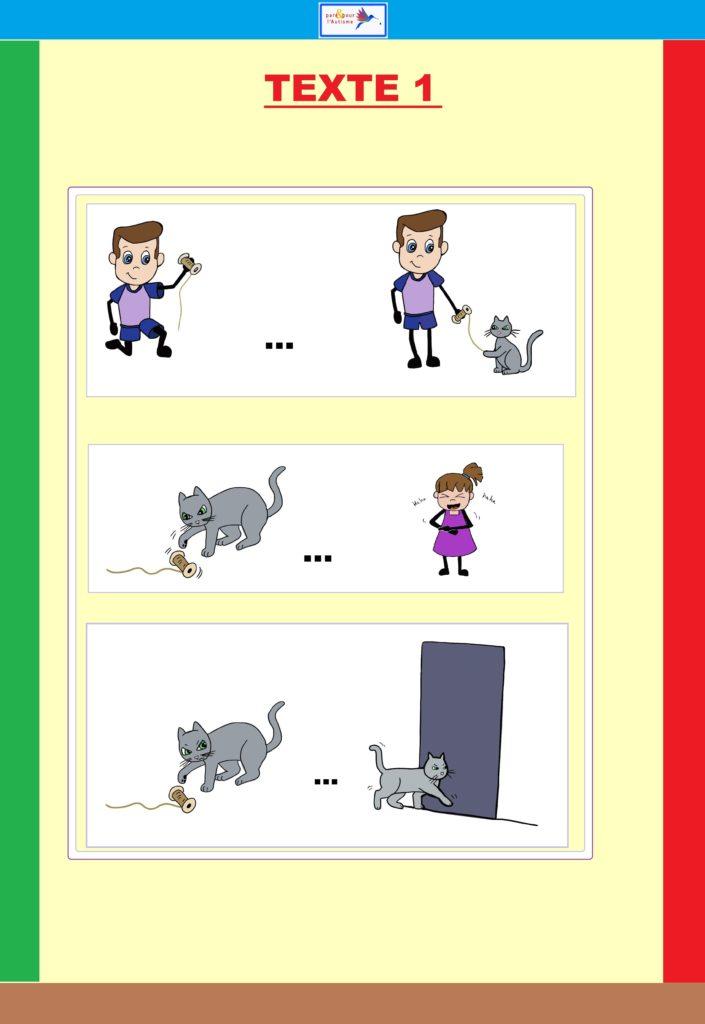 programme lecture autisme dessins