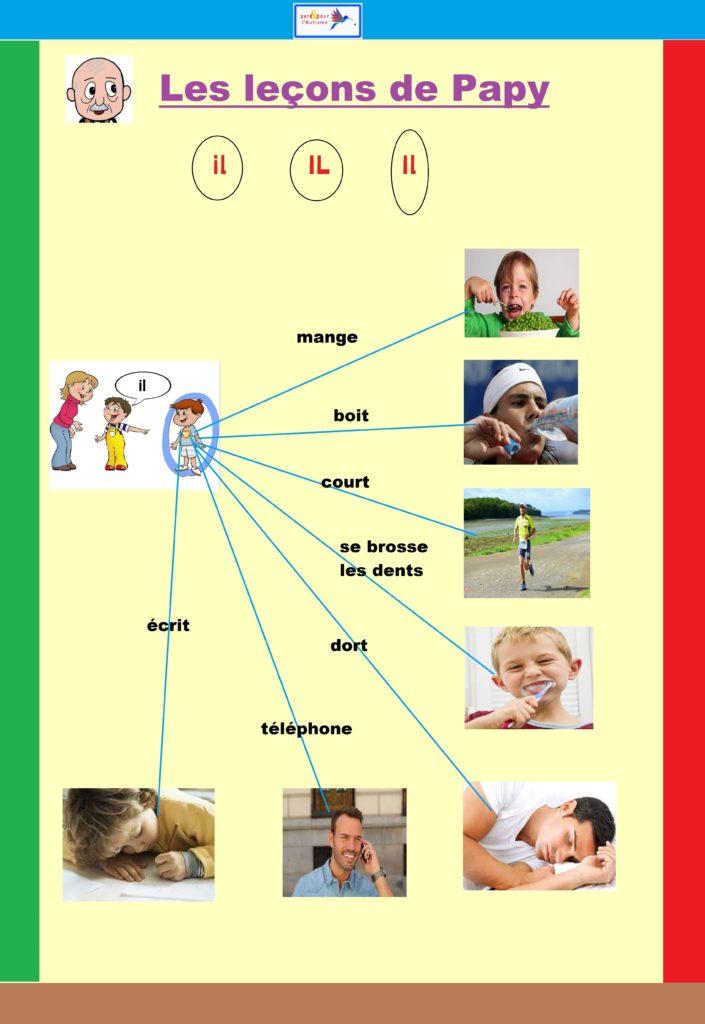 programme lecture autisme leçon 4 texte 1