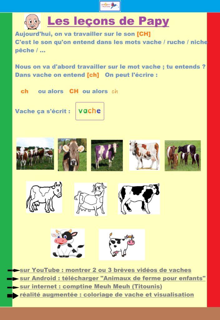 programme lecture autisme leçon 1 texte 1