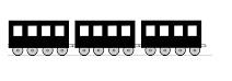 les wagons du train