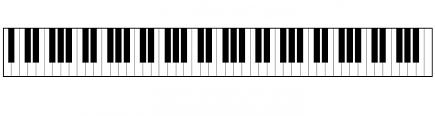 clavier d'un piano