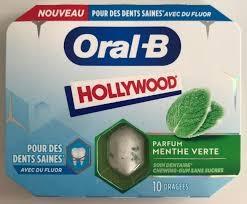 exemple de chewing-gum sans sucres