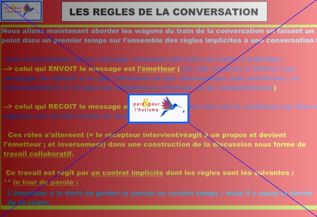 règles implicites d'une conversation