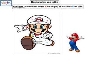 activité reconnaître une lettre