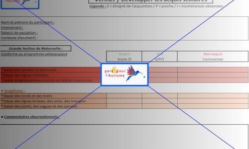 évaluation compétences scolaires GS maternelle page 4