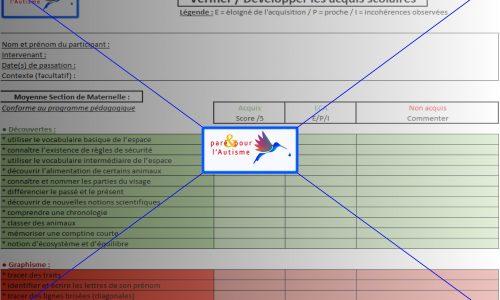 évaluer les compétences scolaires MS maternelle page 3