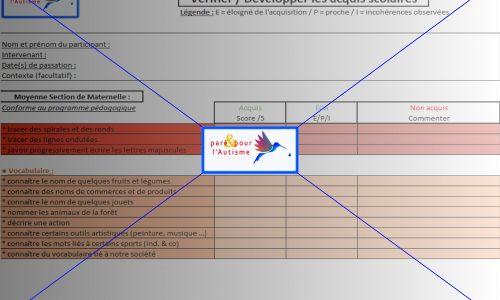 évaluer les compétences scolaires MS maternelle page 4